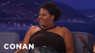 "Adrienne C. Moore Doesn't Have ""TV Titties""  - CONAN on TBS"