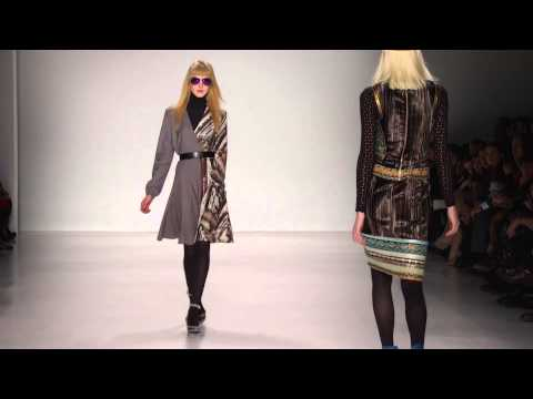 Custo Barcelona Fall - Winter 14/15. New York Fashion Week