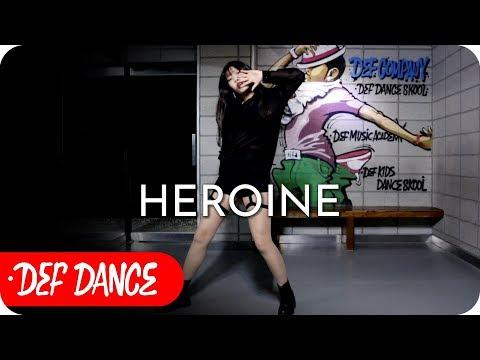 SUNMI (선미) - Heroine (주인공) 댄스학원 No.1 KPOP DANCE COVER (normal+Mirrored) / 데프수강생 빨리평가 방송댄스 defdance