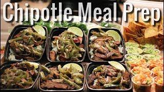 Weekly Meal Prep - Chipotle Steak Bowl
