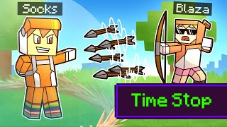 minecraft manhunt but I can control TIME