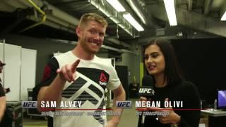 Fight Night Denver: Sam Alvey Backstage Interview