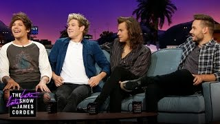One Direction & James Talk 'No Control'