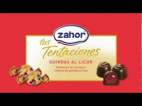 Chocolates Zahor Spot Guindas Licor 2012