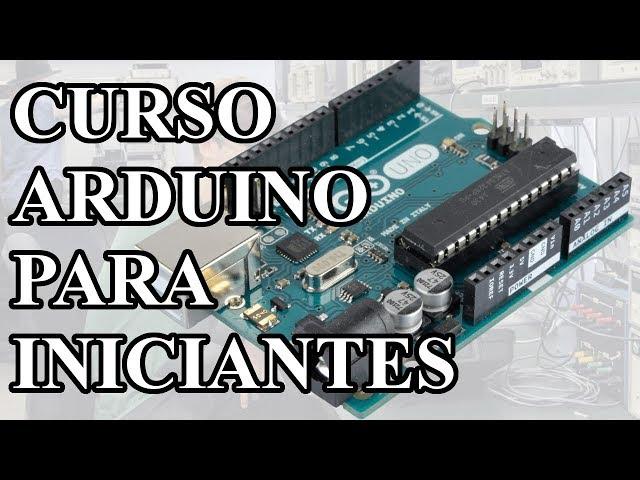 LANÇAMENTO CURSO DE ARDUINO PARA INICIANTES, COM CERTIFICADO!