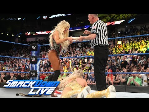 Carmella cashes in her Money in the Bank contract on Charlotte Flair: SmackDown LIVE, April 10, 2018