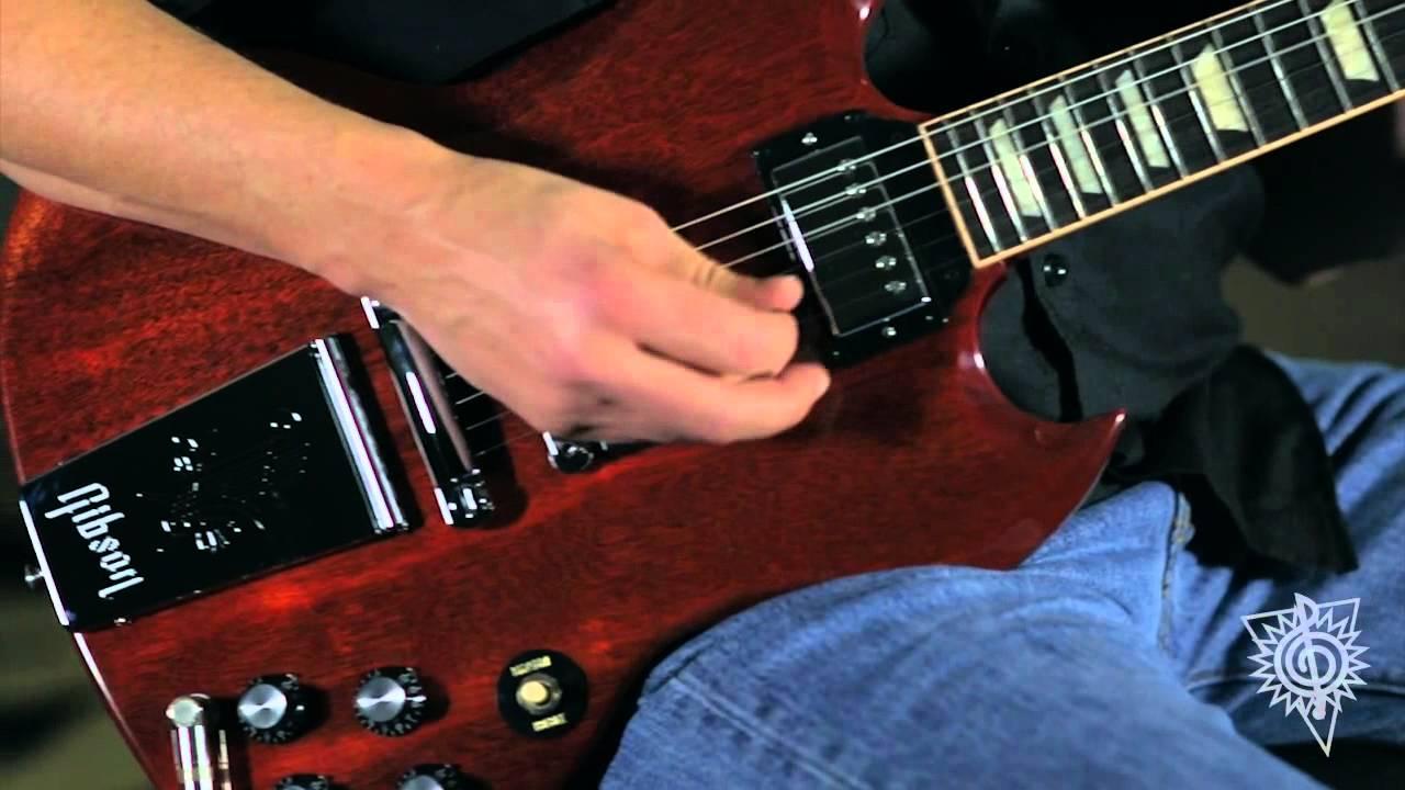 gibson derek trucks signature sg 2014 electric guitar youtube. Black Bedroom Furniture Sets. Home Design Ideas