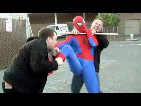 SPIDER-MAN FIGHTS CRIME