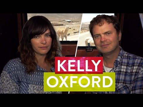 Kelly Oxford & Rainn Wilson Chat in a Sweaty Van - Metaphysical ...