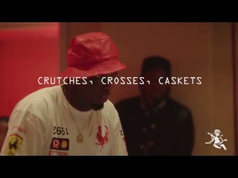 "Pusha T Ft.Diddy - ""Crutches, Crosses, Caskets"" Studio Session"