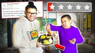 Eating at the WORST REVIEWED RESTAURANT in my City! (1 STAR) | MindOfRez