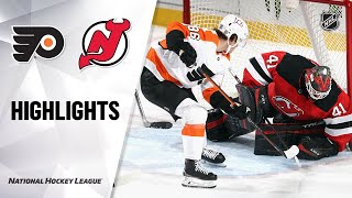 Flyers @ Devils 1/26/21 | NHL Highlights