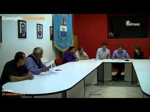 Consiglio Comunale 23 settembre 2014