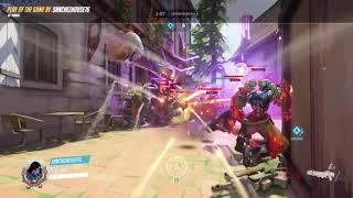 Overwatch: Pharah 6 kill by my buddy Sanchez!