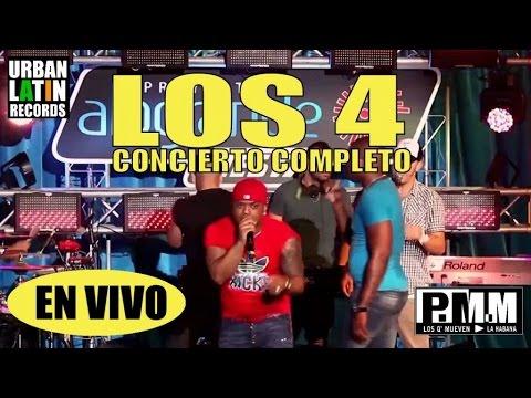 Concierto completo de Los 4 en La Cecilia, Habana Cuba