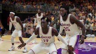 NBA 2K21 (PS5) - New Look '21 Los Angeles Lakers vs '21 Los Angeles Clippers Gameplay (4k 60fps)