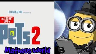 Brian O Minion E Os Minions Assistindo Ao Primeiro Trailer Completo De Pets 2!!!!!!
