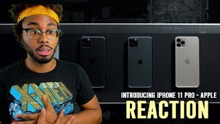 Introducing iPhone 11 Pro — Apple Reaction