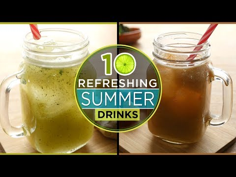 Top 10 refreshing summer drinks recipes by Food Fusion