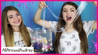 DIY Slime Aquarium Challenge! / AllAroundAudrey