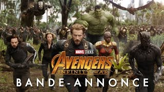 Avengers : infinity war :  bande-annonce VOST
