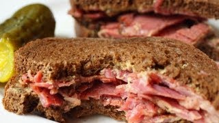 Easy Homemade Pastrami - How to Turn Corned Beef Into Pastrami