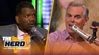 Rob Parker weighs in on Tom Brady's new contract, Hard Knocks & NBA All-Decade team | THE HERD