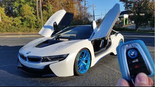 2015 BMW i8: Start Up, Exhaust, Walkaround and Review
