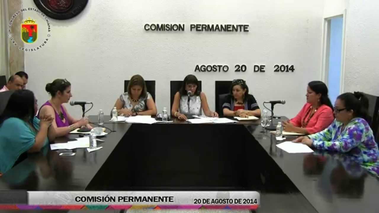 Comisión Permanente 20 de Agosto de 2014