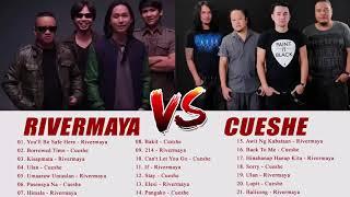 Rivermaya, Cueshe Nonstop Music - Rivermaya, Cueshe OPM tagalog Love Songs EVEr