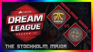 DOTA 2 - FNATIC VS NIP (Bo3) Group Stage | DreamLeague Season 11