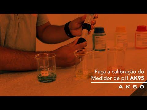 Faça a calibração do seu Medidor de pH AK95