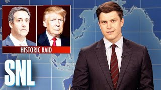 Weekend Update on Michael Cohen Raid - SNL