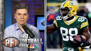 What if Packers' Ty Montgomery doesn't fumble kickoff vs. Rams? | Pro Football Talk | NBC Sports