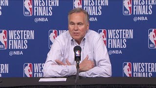 Mike D'Antoni Postgame Interview - Game 7   Warriors vs Rockets   2018 NBA West Finals