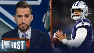 Nick Wright breaks down what the Cowboys need to do to win moving forward | NFL | FIRST THINGS FIRST