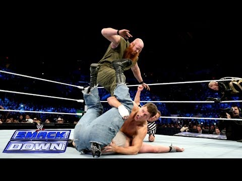 Cody Rhodes & Goldust Vs. Erick Rowan & Luke Harper: SmackDown, Dec. 20, 2013 - Smashpipe Sports
