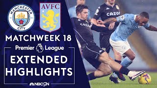 Manchester City v. Aston Villa | PREMIER LEAGUE HIGHLIGHTS | 1/20/2021 | NBC Sports