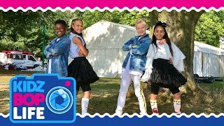 KIDZ BOP Life UK: Vlog #7 - CBBC Summer Social
