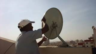 How to set up a satellite dish for Freesat in Ajman |  Dish Satellite Repair Man Ajman 054-761-6751.