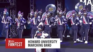 Howard University Marching Band @ #YouTubeBlack FanFest Washington D.C. 2017
