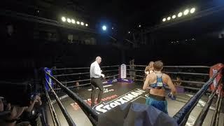 Friday Boxing Fight Night | VR | Linardatou vs Hobbs Round 9