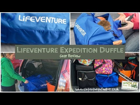 video Lifeventure Expedition Duffle Bag Review