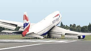 World's Heaviest Boeing 747-400 Take Off Attempt [XP11]