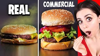 Food In Commercials VS  In Real Life !