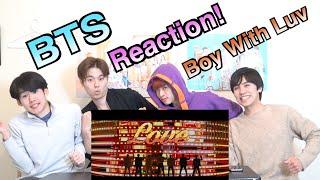 【BTS (방탄소년단) - '작은 것들을 위한 시 (Boy With Luv) feat. Halsey M/V】일본인이 한국어로 하는 K팝 리액션!!