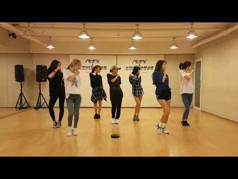 Girls Next Door (옆집소녀) - Deep Blue Eyes Dance Practice (Mirrored)