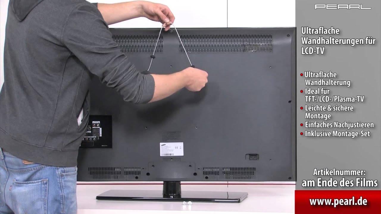television wandhalterungen gartenm bel 101. Black Bedroom Furniture Sets. Home Design Ideas