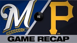 Hiura's 1st 2-HR game lifts Brewers to win | Brewers-Pirates Game Highlights 8/7/19
