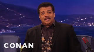 "Neil deGrasse Tyson: Star Wars Fans Are ""Prickly""  - CONAN on TBS"